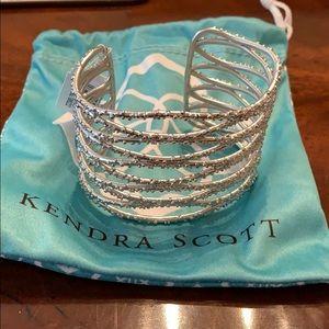 Kendra Scott Cuff Bracelet - Silver